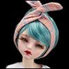 (선주문)(7~8) Multi Band ; Hair + Waist (Ch Pink
