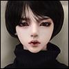(8-9) Nuson Cut Wig (Black)