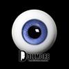 30mm Glass Eye (L.Violet) - A