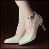 Trinity Doll - RM High Heel Shoes (Enamel Cream)