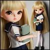 """12"""" Size - My School Girl Set (Navy)"""