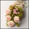 Middle Ash Rose Flower Bouquet (L Pink) 꽃다발