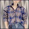 (선주문)SD - Tarde Shirt (Ch Blue)