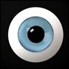 30mm Glass Eye (Blue) - A