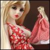 "12"" Size - Myrtle Dress (Red)"