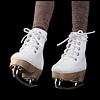 MSD - Basic Skate Ankle Boots (White)