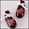 """12"""" Butterfly Shoes (Black)"""