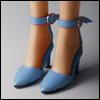 Fashion doll Size - Delightful Heels shoes (Sky)[C3]