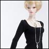 Fashion Doll Size : Basic U - T (Black)