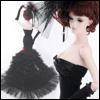 Fashion Doll Size : Calendula Dress (Black)