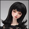 (8-9) Hailey Curl Wig (Black)