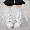 MSD - Long Sneakers (Enamel White)