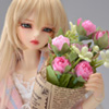 Middle Sinicus Flower Bouquet (Pink) 꽃다발