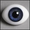 12mm Classic Flat Back Oval Glass Eyes (CC02)