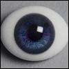 12mm Classic Flat Back Oval Glass Eyes (CD02)