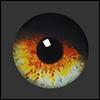 12mm Fantasy Flat Round Glass Eyes (FF07)