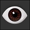 12mm - MB Oval Acrylic Eyess (Brown)