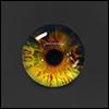 12mm Fantasy Flat Round Glass Eyes (FF14)