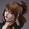 (8-9) Samu Ponytail Wig (Brown)