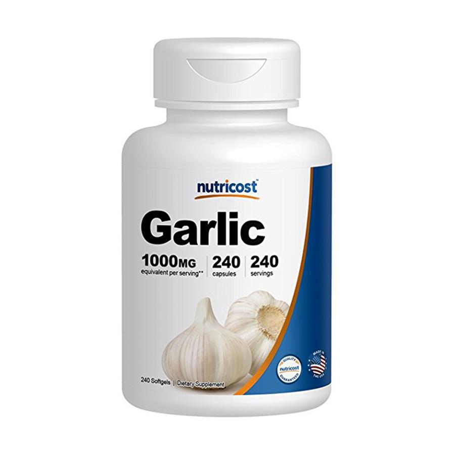 [건강보조제] 뉴트리코스트 갈릭 마늘 추출물 240캡슐