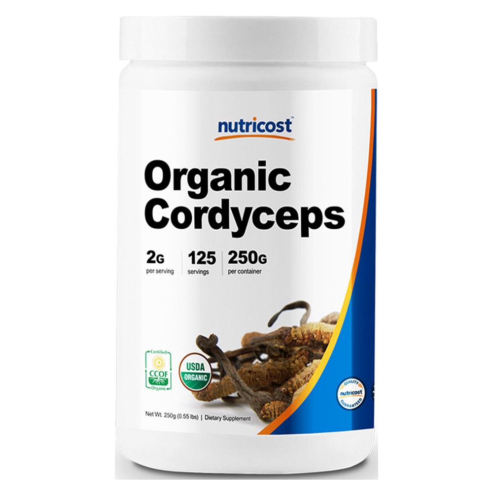 뉴트리코스트 오가닉 동충하초 분말 250g