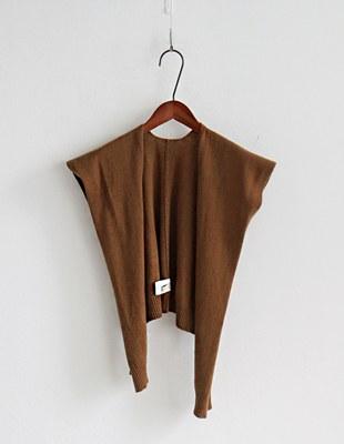 Fine knit muffler - 7c
