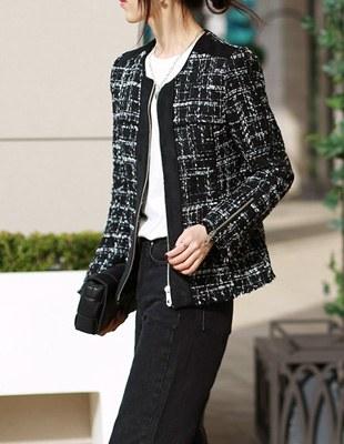 Claude tweed jacket