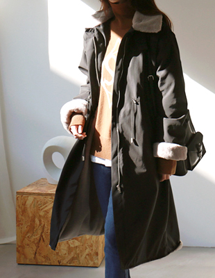 Hermann fur lining coat - 2c