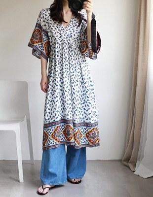Ethlon Printing Dress