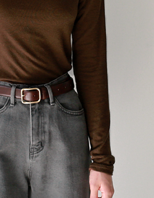 just leather belt