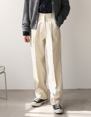Low Corduroy Pants