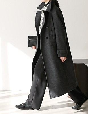 Port double Long coat