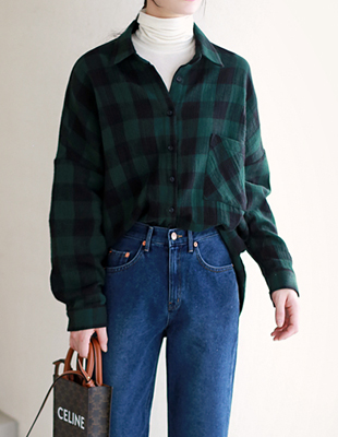 Double Paper Check Shirt