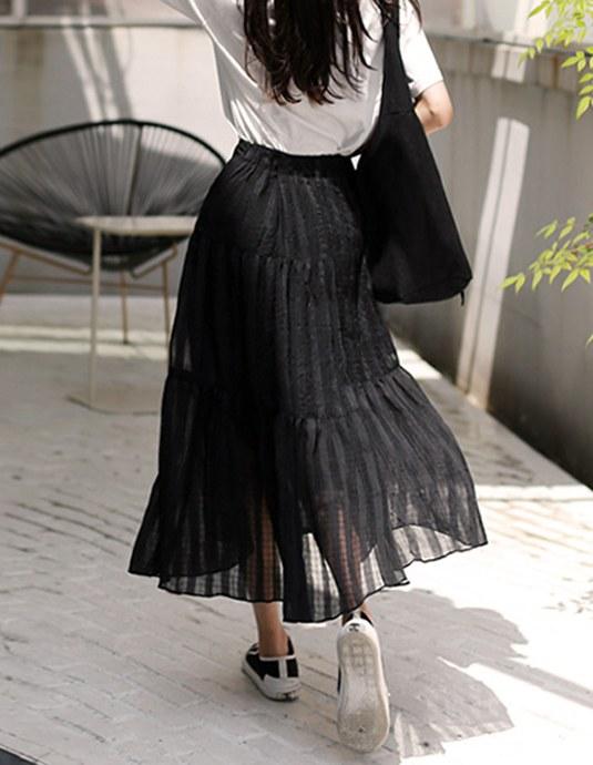 Very Sheer Skirt