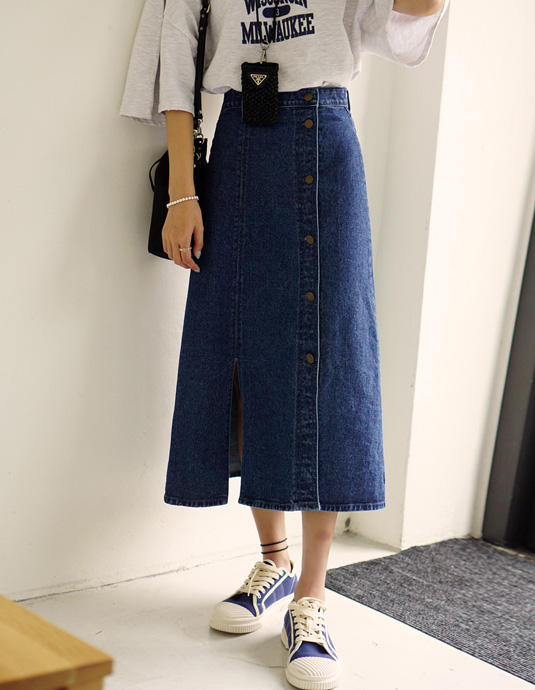 Milwaukee Denim Skirt