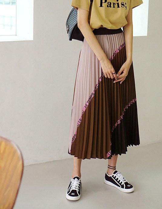 Tate Pleats Skirt