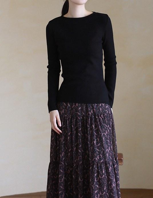 Jess Slim Knit Top