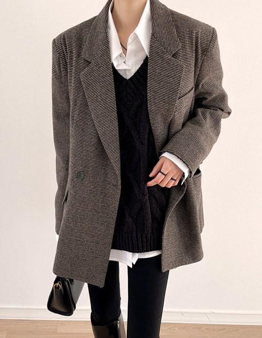 【当天发货】【25日上午11点前5折】Alexa双羊毛夹克