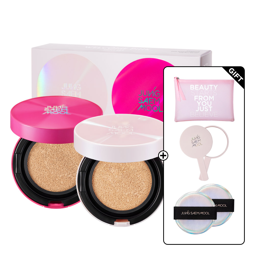Essential Skin Nuder Cushion Welcome Pink Duo Set GIFT