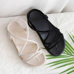 ふわふわ楽に履ける様製作された女性ストラップサンダル Mencia
