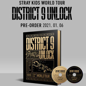 (DVD) Stray Kids - World Tour District 9 Unlock in SEOUL/K-POP/DVD