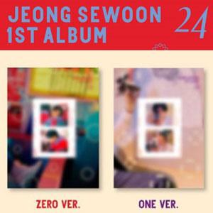 [バージョン選択/ポスター選択]JEONG SEWOON - 正規 1集 24 Part.2/K-POP/CD