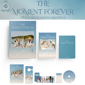 TWICE - 2021 SEASONS GREETINGS [THE MOMENT FOREVER]/シーズングリーティング/公式/公式グッズ