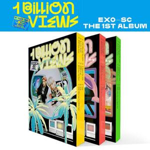[バージョン選択]セフン & チャニョル (EXO-SC) - 10億ビュー (正規1集)/K-POP/CD/EXO/ポスターなし