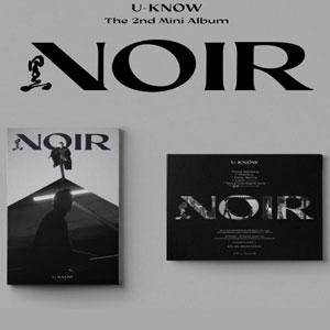 [ポスター選択]ユノユノ NOIR アルバム krank in krank up 2種[TVXQ U know]/K-POP/東方神起