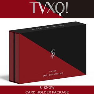 東方神起(TVXQ)カードホルダーパッケージ (ユノユノ Ver)/公式/公式グッズ
