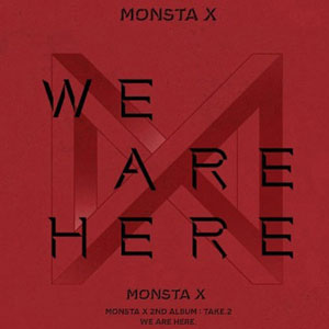 [ポスター選択]MONSTA X / 2集-Take.2 We Are Here/CD/K-POP