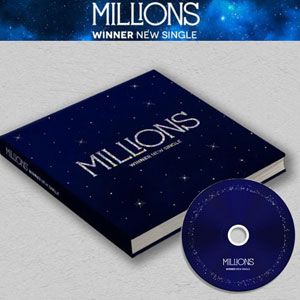 [ランダム] Winner / Millions (New Single/White Blue ランダム)/K-POP/CD