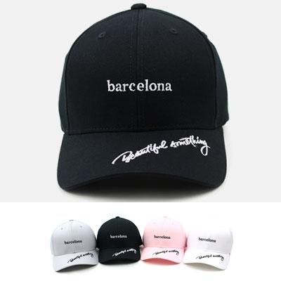 [UNISEX] バルセロナポイントボールキャップ(4color)