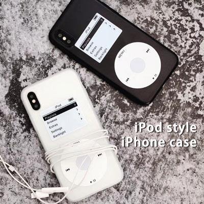 クラシックiPhodスタイルiPhone スマホケース/スマホカバー (2color)